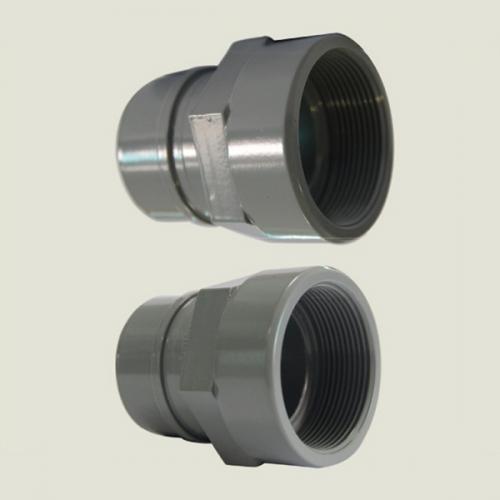 铝合金内丝转换接头DN20-50